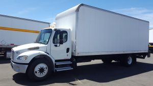 2014 Freightliner M2-106, 26 foot box drivers-side-front-150x150